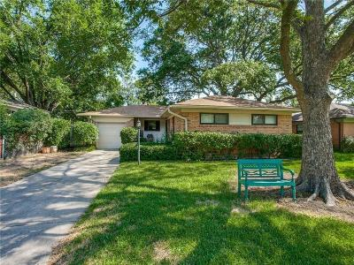 Richardson Single Family Home For Sale: 602 Sherwood Drive