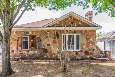 Fort Worth Single Family Home For Sale: 2121 Clinton Avenue