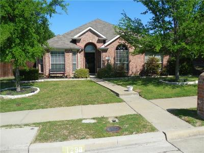 Rockwall Single Family Home For Sale: 1298 Highland Drive