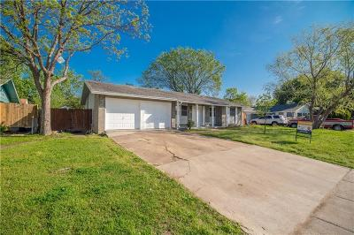 Irving Single Family Home Active Option Contract: 2413 Rutherford Street