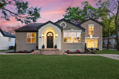 Dallas County Single Family Home Active Option Contract: 2534 Alco Avenue