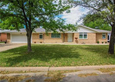 North Richland Hills Single Family Home Active Option Contract: 5809 Cynthia Circle
