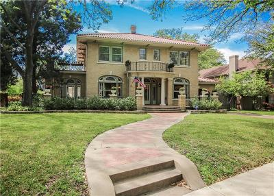 Fort Worth Single Family Home Active Option Contract: 2440 Medford Court W