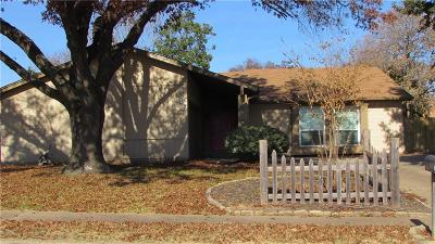 Benbrook Single Family Home Active Option Contract: 9908 Edmund Drive