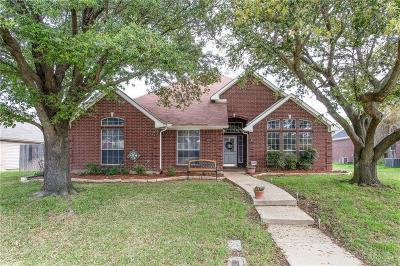 Lewisville Single Family Home Active Option Contract: 2059 Birchwood Court