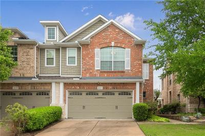 Plano Townhouse For Sale: 4637 Penelope Lane