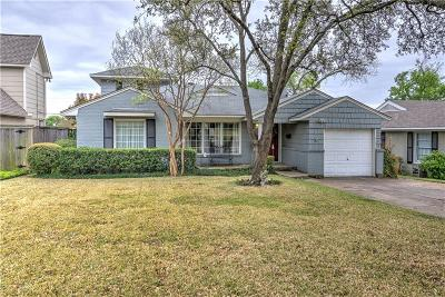 Dallas Single Family Home Active Option Contract: 6922 La Vista Drive