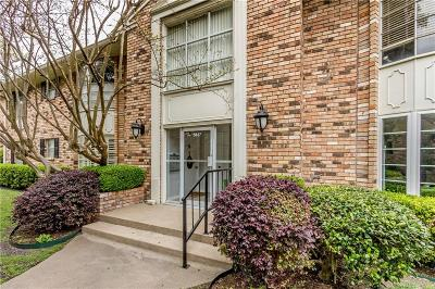 Dallas Condo For Sale: 5837 E University Boulevard #B