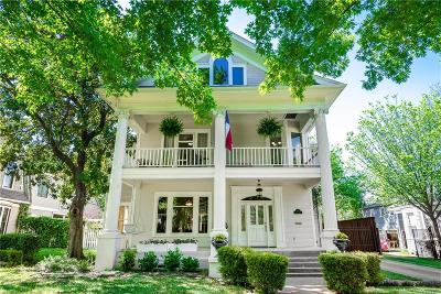 Dallas Single Family Home For Sale: 4719 Swiss Avenue