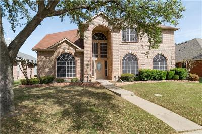 Carrollton Single Family Home For Sale: 3644 Canyon Oaks Drive