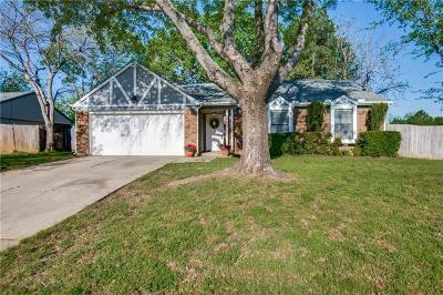 Corinth Single Family Home Active Option Contract: 3617 Clearview Drive