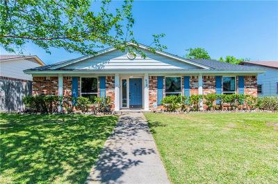 Farmers Branch Single Family Home Active Option Contract: 2731 Moonriver Lane
