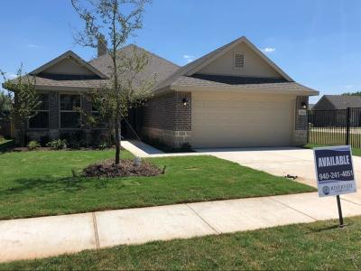 Cooke County Single Family Home For Sale: 1804 Vallana Drive