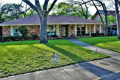 Dallas Single Family Home For Sale: 5939 Hunters View Lane