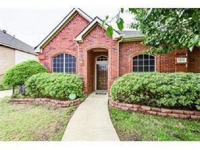 Sachse Single Family Home For Sale: 1411 Sunrise Lane