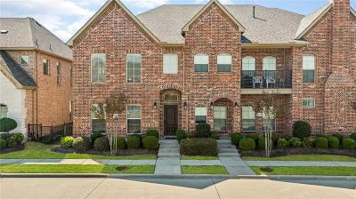 Carrollton Townhouse For Sale: 4125 Indian Run Drive