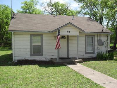 Farmersville Single Family Home Active Option Contract: 116 N Buckskin Street