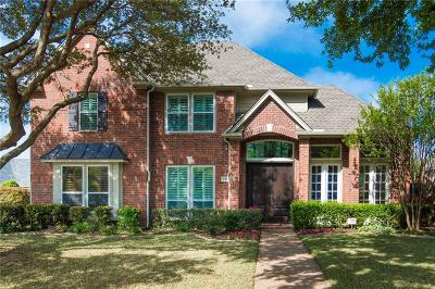 Coppell Single Family Home Active Option Contract: 105 Hollywood Drive