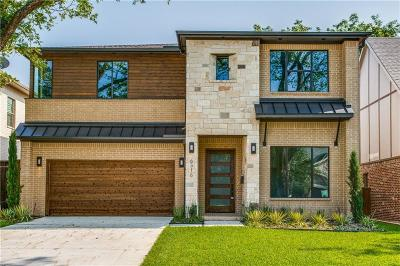 Dallas County Single Family Home For Sale: 6316 Palo Pinto Avenue