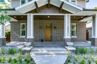 Dallas County Single Family Home For Sale: 5837 Llano Avenue