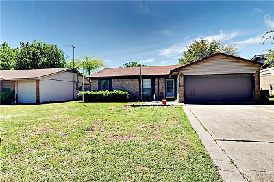 Grand Prairie Single Family Home Active Option Contract: 2417 April Lane