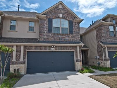 Plano Townhouse For Sale: 2208 Wabash Way