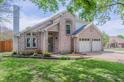 North Richland Hills Single Family Home For Sale: 7717 Driftwood Court