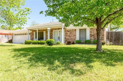 Bedford Single Family Home Active Option Contract: 2108 Shady Brook Drive