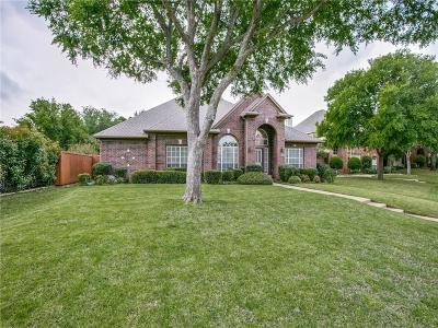 Coppell Single Family Home For Sale: 853 Shorewood Drive