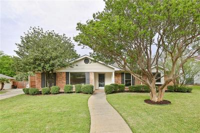 Richardson Single Family Home Active Option Contract: 423 Valley Cove Drive