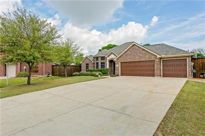 Wylie Single Family Home Active Contingent: 1331 Canyon Creek Road