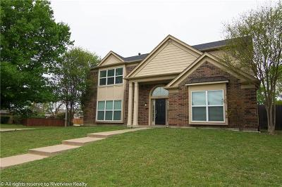 Carrollton Single Family Home For Sale: 2101 Clearwater Trail