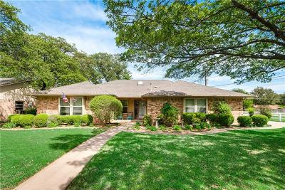 Bedford Single Family Home Active Option Contract: 3308 Pin Oak Lane