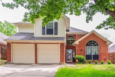 Grand Prairie Single Family Home Active Option Contract: 1125 Brevito Drive