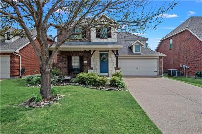 McKinney Single Family Home Active Option Contract: 1600 Clearwater Drive
