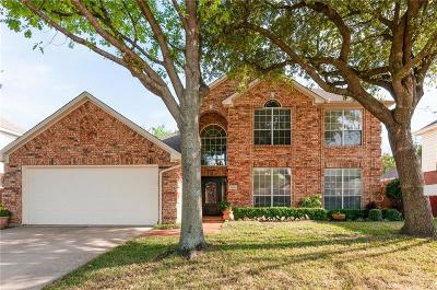 Keller Single Family Home Active Option Contract: 1540 Creekview Drive
