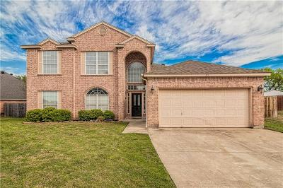 Aledo Single Family Home Active Option Contract: 311 Aspen Court W