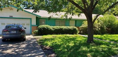 Comanche Single Family Home For Sale: 306 Sunset Drive
