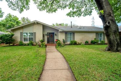 Single Family Home For Sale: 7433 Chattington Drive