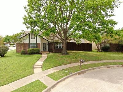 Plano Single Family Home Active Option Contract: 2901 Jesters Court
