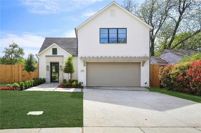 Dallas Single Family Home For Sale: 3824 Lively Lane