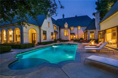 Dallas Single Family Home For Sale: 10706 Bridge Hollow Court