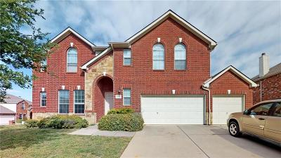 Little Elm Single Family Home Active Option Contract: 3015 Blue Lake Drive