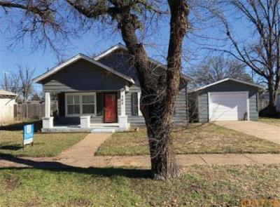 Baylor County Single Family Home For Sale: 504 N Tackitt Street