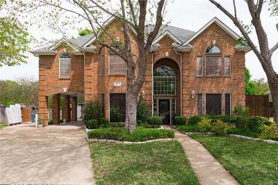 Flower Mound Single Family Home Active Option Contract: 1617 Loblolly Court