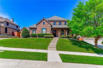 Prosper Single Family Home For Sale: 851 Echo Drive