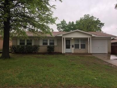 Irving Single Family Home For Sale: 2728 Posey Drive