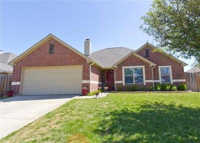 Aubrey Single Family Home For Sale: 813 Countryside Drive