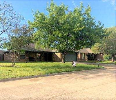 Terrell Single Family Home Active Option Contract: 781 Evelyn Drive