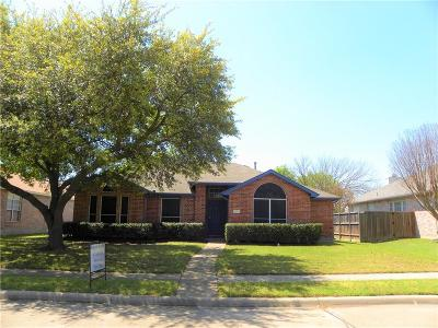 Allen Single Family Home Active Option Contract: 1506 Harvest Run Drive